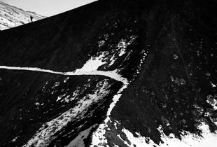 Monte Etna - Viandante sul mare di pietra