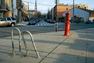 Bike Rack & Alarm Box
