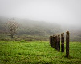 Trailhead, Sierra Negra, Galapagos