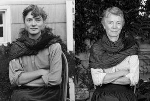 Carolin, 31 years apart (1988-2019).