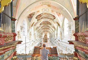 Thomas Fischer, St. Georg Kloster Ochsenhausen, Organ Joseph Gabler