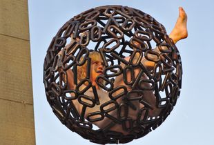Binary Sphere airborn
