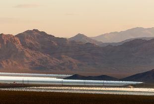 Ivanpah Thermal Solar Plant, CA. Study #9                                 (35,28.6328N - 115,26.9870W)