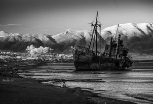 Valtaki Beach and the Shipwreck of Dimitrios