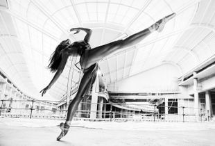 #InPosnania - a photographic project by Szymon Brodziak with Poznan Ballet Dancers. Shot on a construction site to celebrate the opening of Posnania Shopping Center in Poznan, Poland.