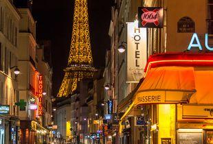 Paris Near Midnight