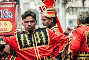 Músicos Indios