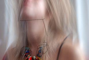 Portrait of a unknown woman