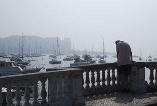 Looking at the ocean №1