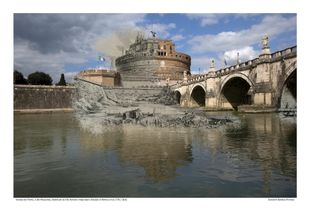 Ponte di Sant'Angelo e Mausoleo di Augusto [Vedute di Roma] circa 1778 / 2016
