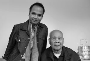 Cambodia, Bunrith Edward Sath and father, Nhek Sath from The Bay State: A Multicultural Landscape, Photographs of New Americans