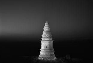 Jiu Feng Pagoda in Yangyuan County, Tang Dynasty