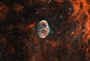 The Crescent Nebula (NGC 6888)