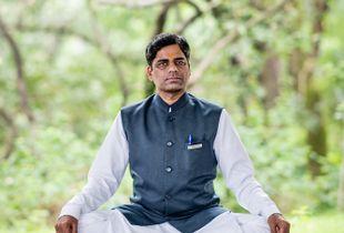Portrait of a yoga teacher