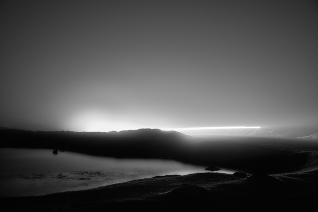A foggy night on Dartmoor