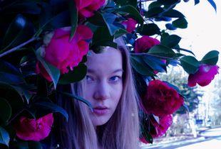 Behind A Rose