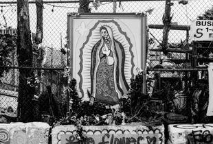 Altar de la Virgencita on Wyckoff Ave