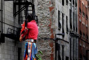 Hopi dancer in Old Montreal