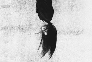 Inverted girl