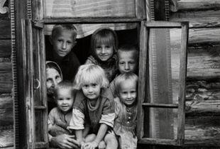 Kids in the window