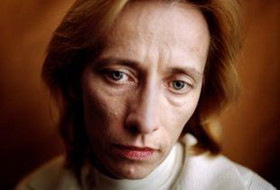 """OKSANA CHELYSHEVA.  Rusia. Human Rights Defender journalist and member of  """"Sociedad para la Amistad Ruso-Chechena""""."""
