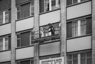 The window cleaners