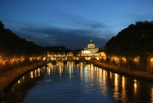 The night in Rome