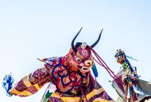 Climax - Tsechu (Buddha dance)