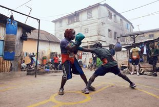 Boxing in Accra 6