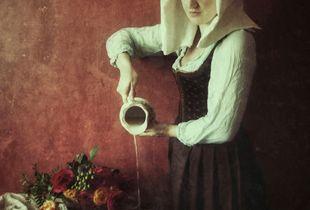 Homage To Vermeer's Milkmaid
