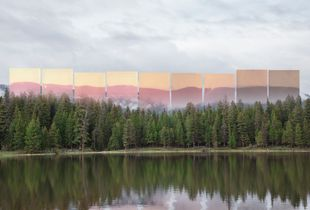 Rat Lake, Montana (dipped in lake, exposed over 9 hours)
