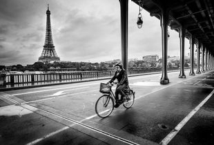 Solitary Cyclist
