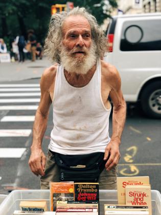 Book salesman