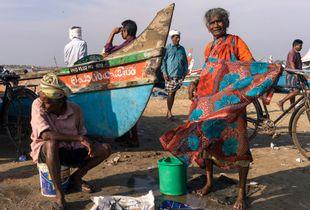 Fish Seller, Kollam, Kerala