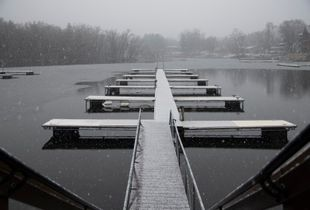 When it snowes In Wisconsin