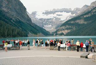 "Lake Louise #1, C-print, 40""x50"""