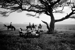 Out of Africa / picnic in Tsavo
