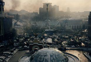 Independent square (Ukraine, Kiev, February, 2014)