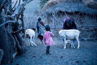 Little Masai girl !