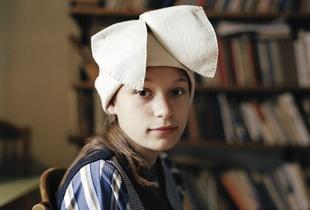 Zsuzsa P in Rabbit Ears