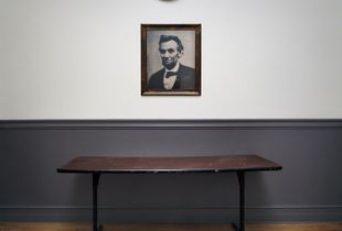 Portrait of Lincoln, Milton Academy