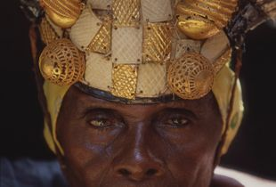 Ghanian Man in King's Court