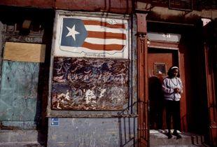 Puerto Rican flag, 1986.