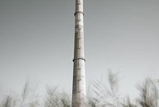 Liquichimica Biosintesi – The massive smoke tower.