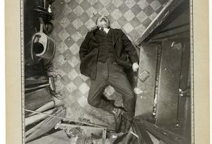 Alphonse Bertillon. Murder of Monsieur Canon, boulevard de Clichy, 9 December 1914 © Archives de la Préfecture de police de Paris. Courtesy of Préfecture de police de Paris, Service de l'Identité judiciaire.