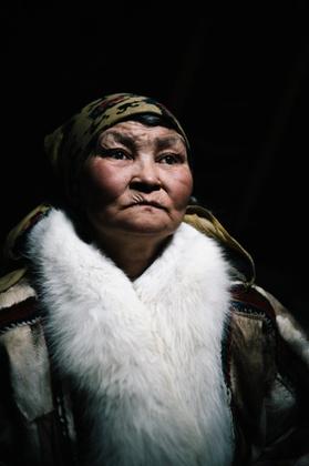 Lena, Nenets woman