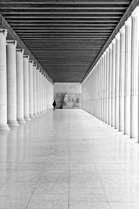 περίπατος στην αρχαία Ελλάδα