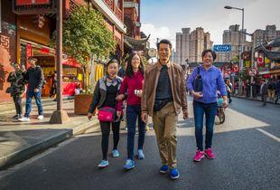 Walking - Shanghai, China