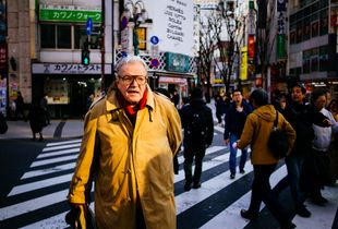 American in Shinjuku