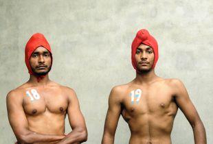 Sikh Wrestlers, Punjab